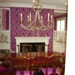 painters toronto image sample wallpapered dining room
