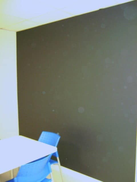 Toronto Painters Court-Hampton Painting Inc., paint a wall in chalk board paint
