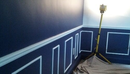 Painting Walls Two Tone