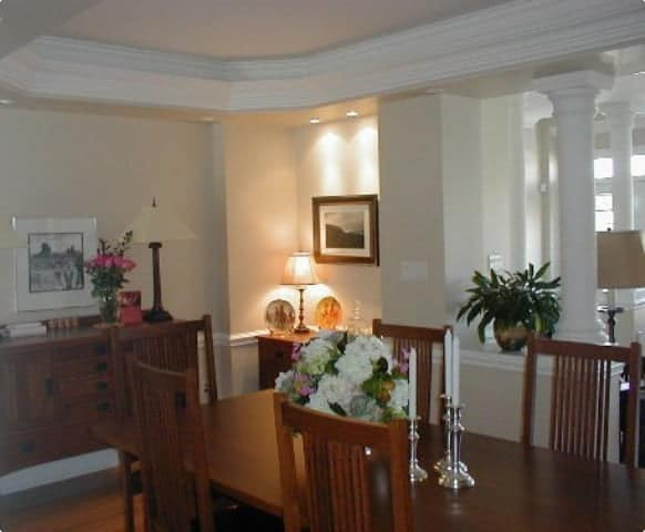 painting contractors in toronto-dining room