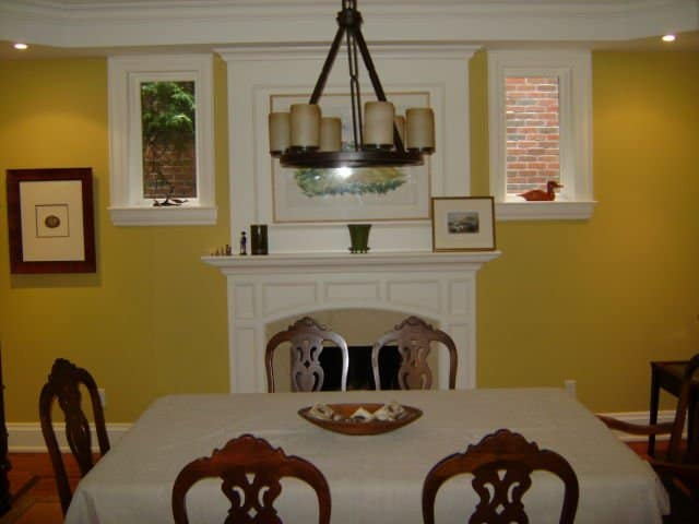 toronto painters paint a dining room yellow