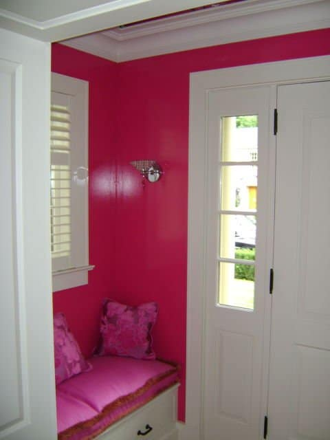 Charmant Painters Toronto Image Sample Entryway Painted Pink