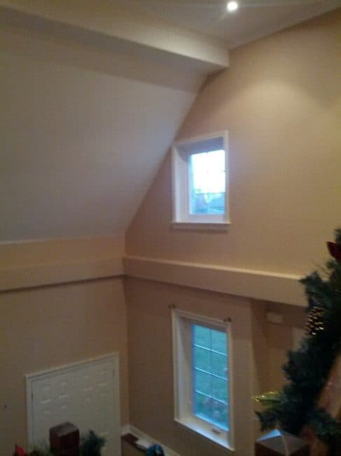painting high stairwells